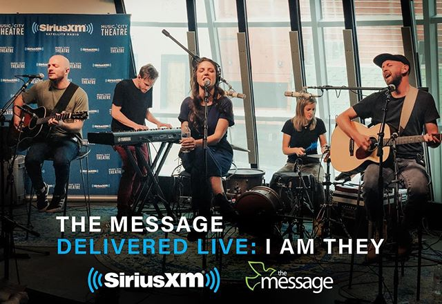 Friday! Our SiriusXM session airs at 12pm eastern on The Message @siriusxmthemessage Channel 63.  Tune in to hear live versions of our songs, Q&A with Doug Hannah, and a mainstream cover song we've never performed anywhere else! Any guesses which song we picked??