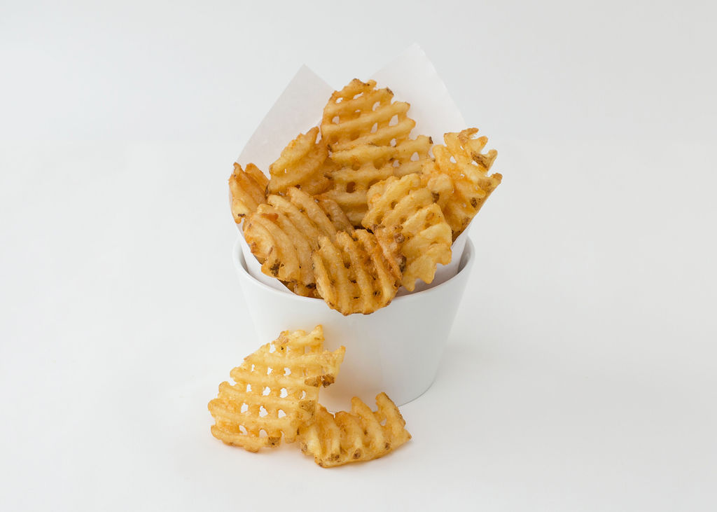 WAFFLE FRIES - med - $1.89 | $2.19