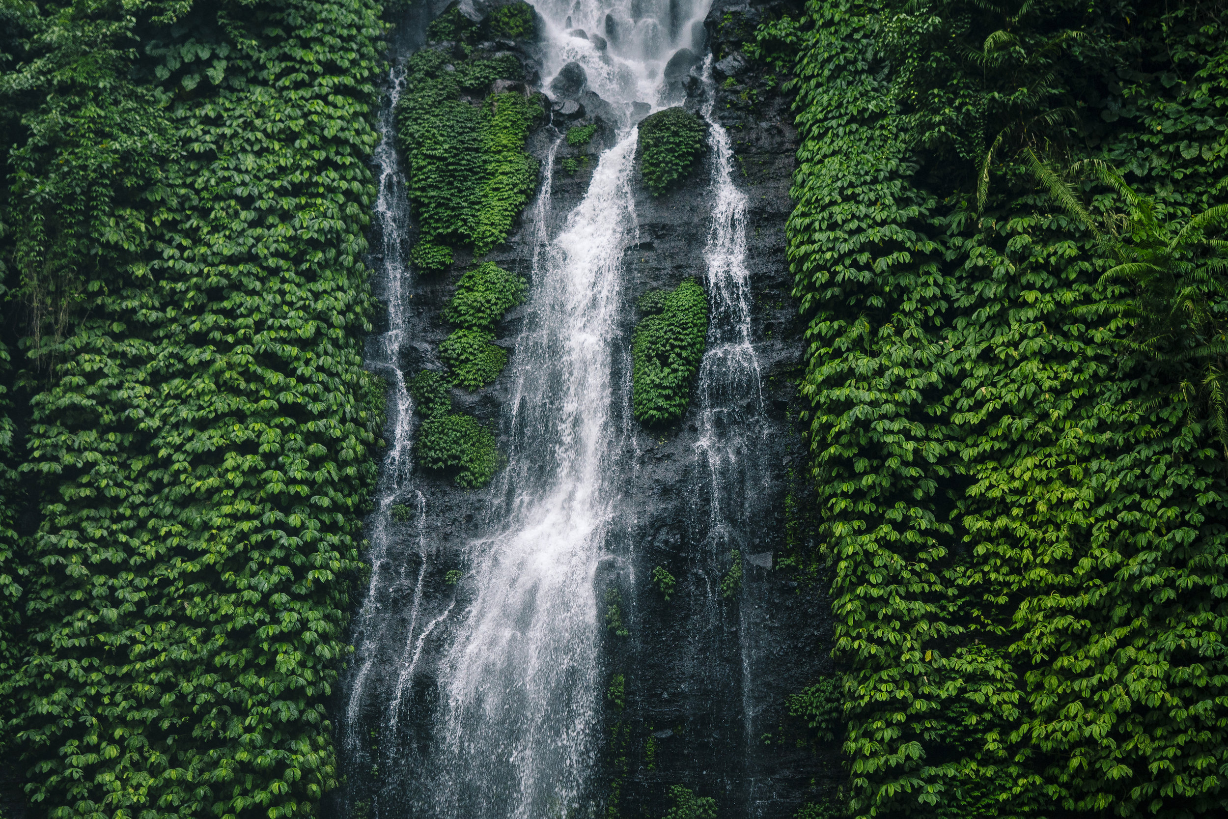 Lemukih Waterfall - Bali, Indonesia - 2017