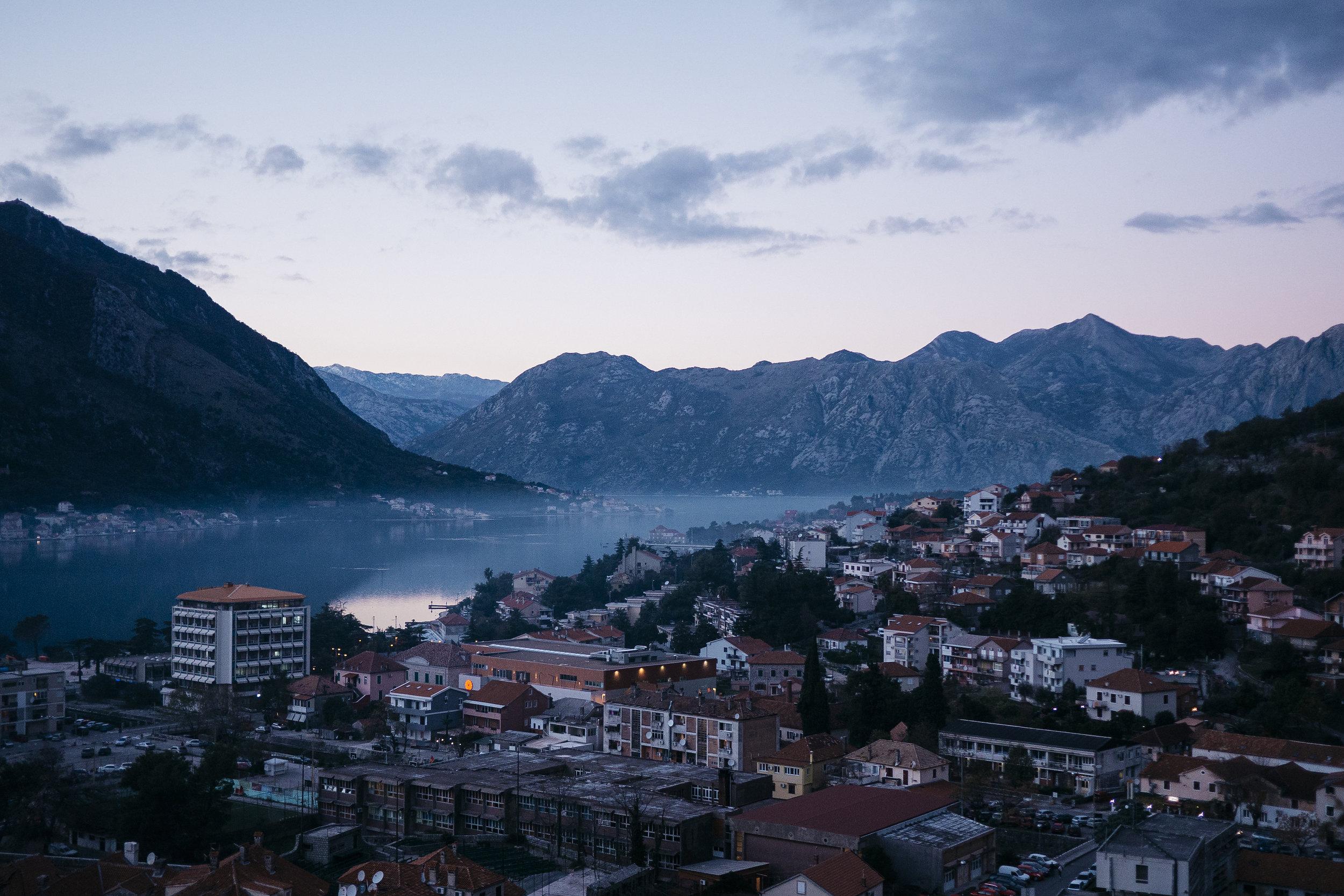 Kotor Bay, Montenegro - 2013