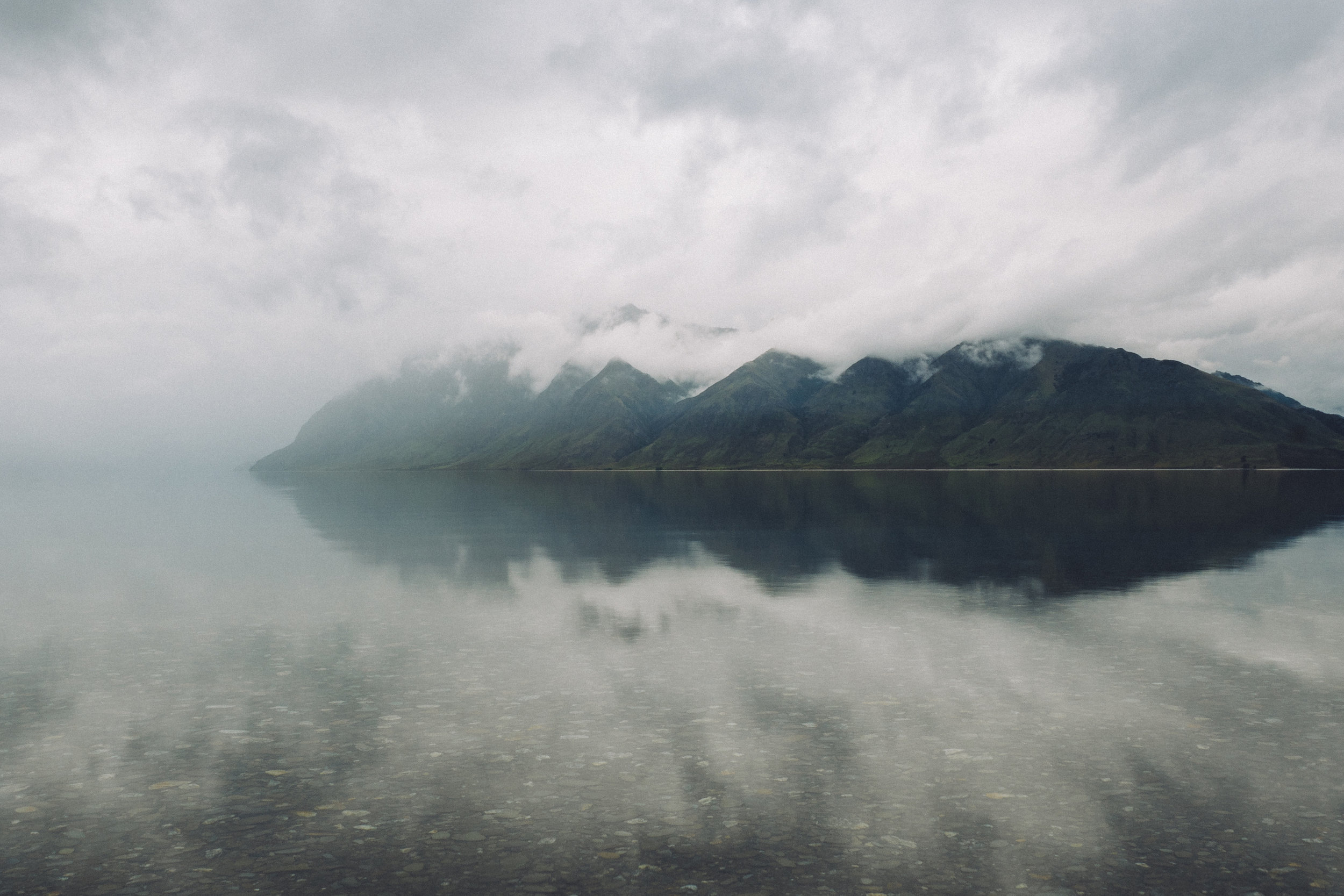 Lake Hawea, New Zealand - 2016
