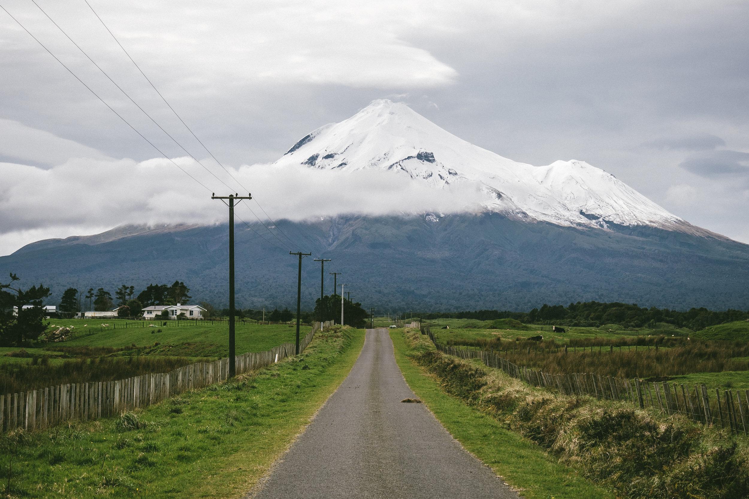 Mount Taranaki, New Zealand - 2017