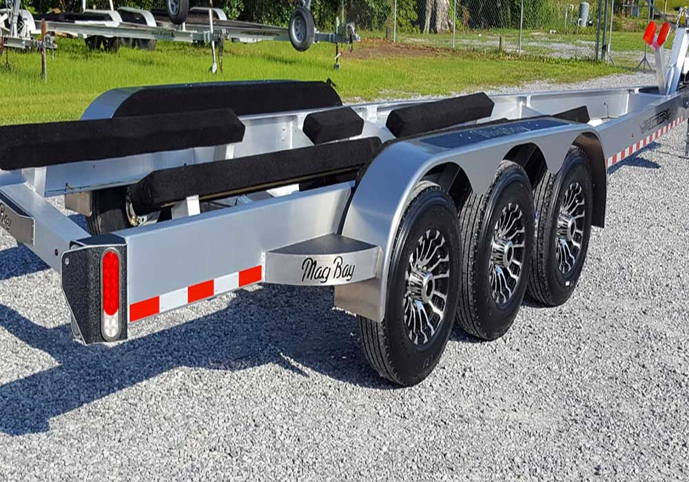 TRIPLE AXLE OVERSIZED TRAILER - FROM SPORT TRAIL LLC.