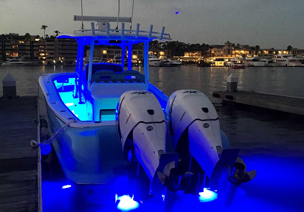 LUMISHORE UNDERWATER LIGHTS - COLOR CHANGING UNDERWATER LIGHTS WITH CONTROLLER
