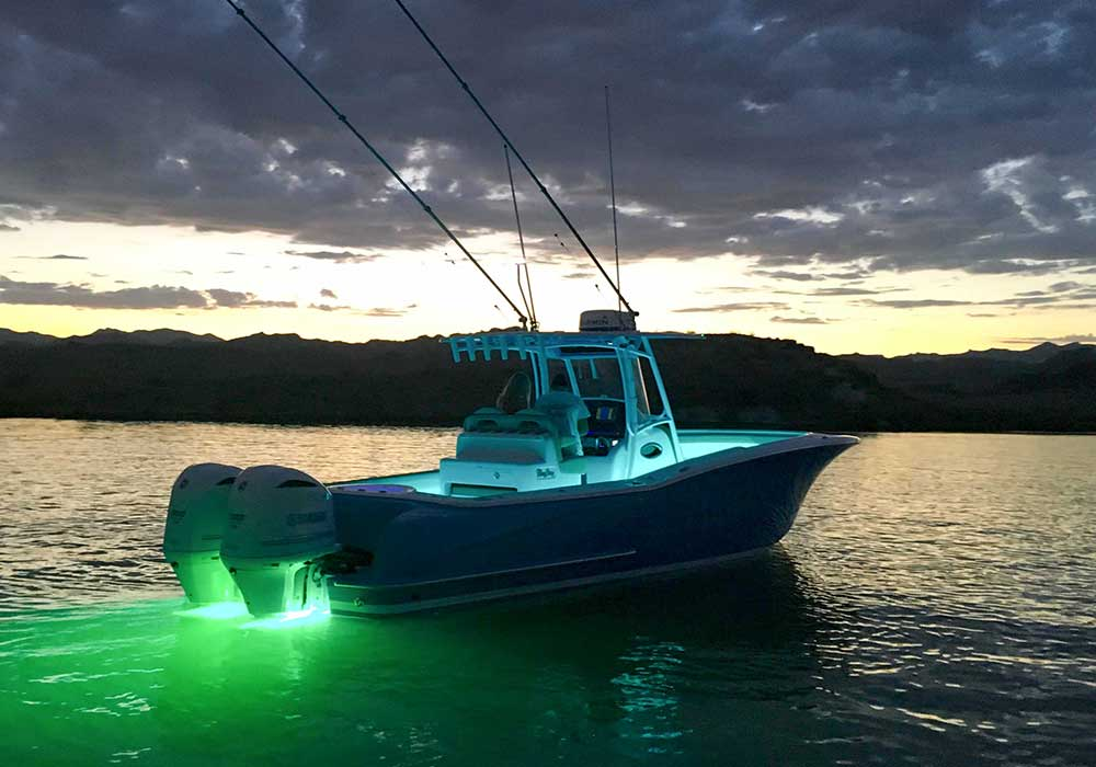 ADDITIONAL UNDERWATER LIGHTS - UP TO 4 ADDITIONAL LIGHTS