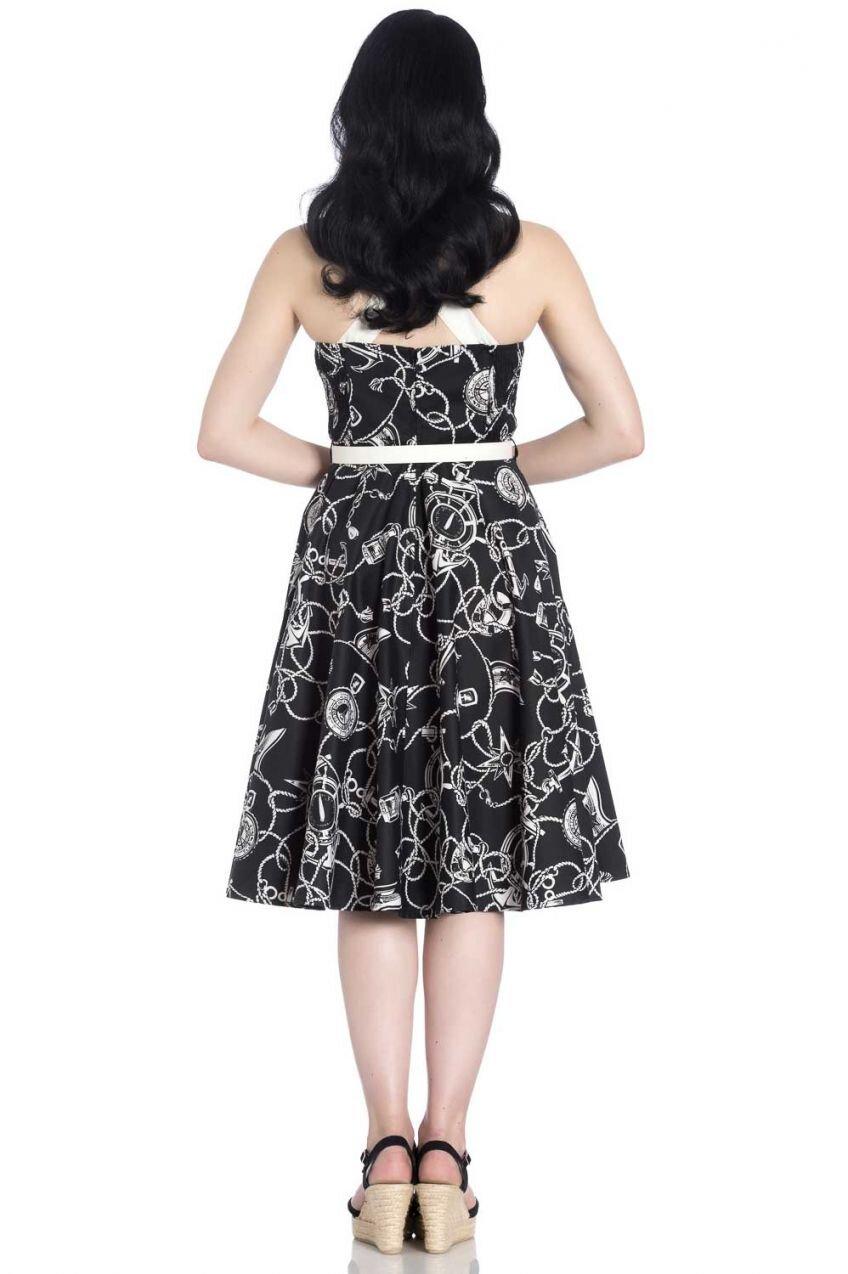 Hell Bunny Mistral 50s Dress Size 8-16 Vintage Retro Swing 60s Rockabilly BNWT