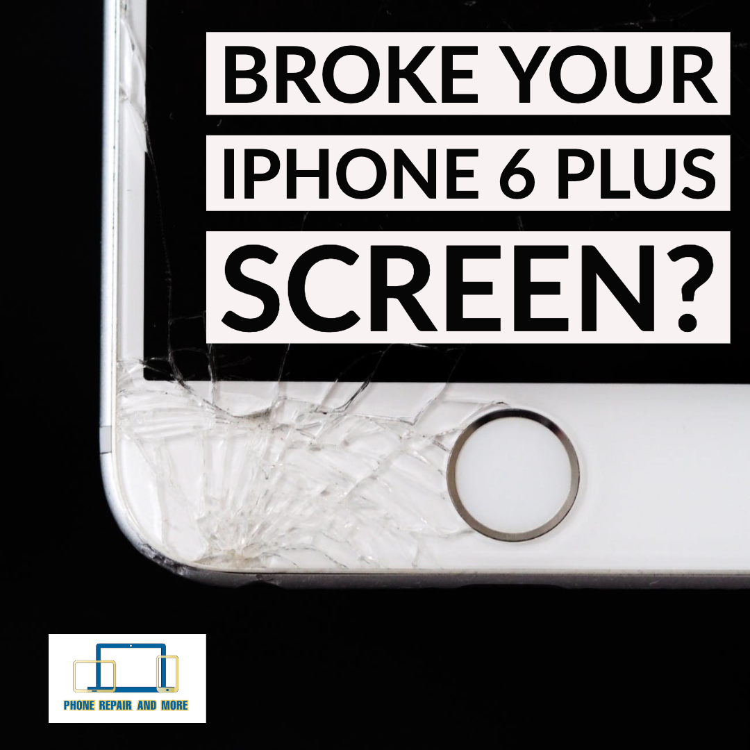 Broken iPhone 6 Plus Screen Repair.