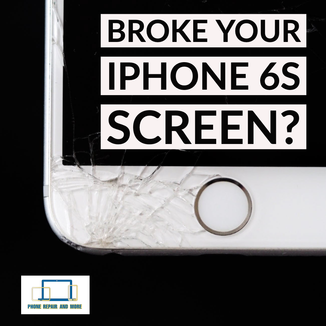 Broken iPhone 6S Screen Repair.