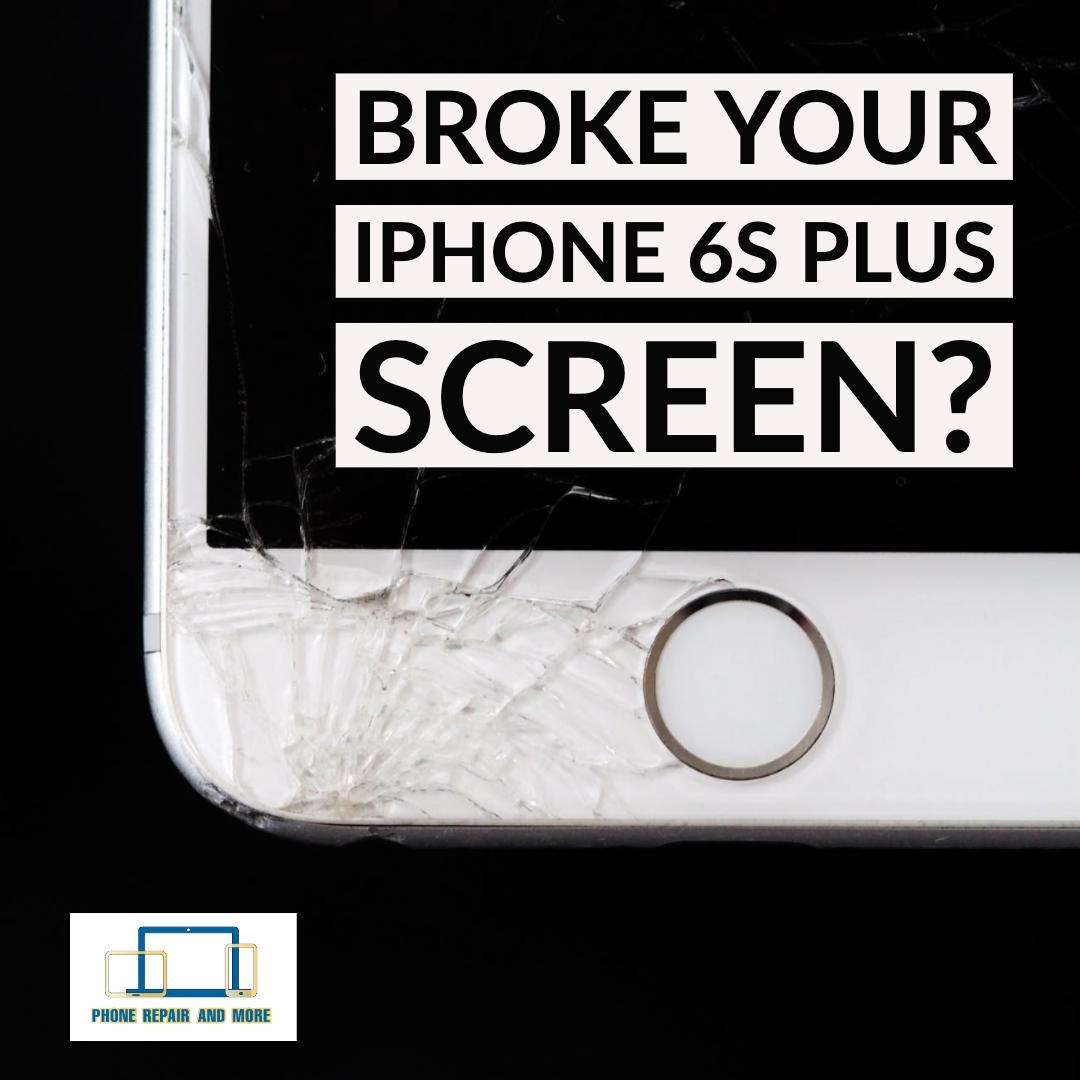 Broken iPhone 6S Plus Screen Repair.