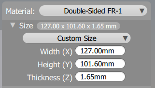 This is what the thickness will equal in the Bantam Tools Desktop Milling Machine Software after you add 0.01mm.