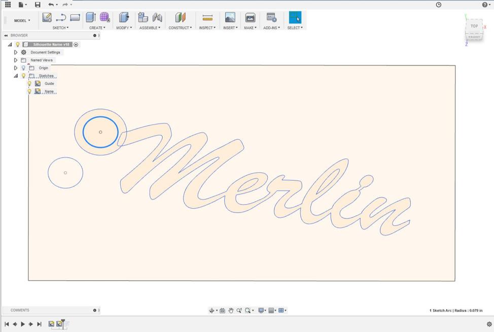 Bantam Tools Blog — How to Make Custom Name Cutouts in