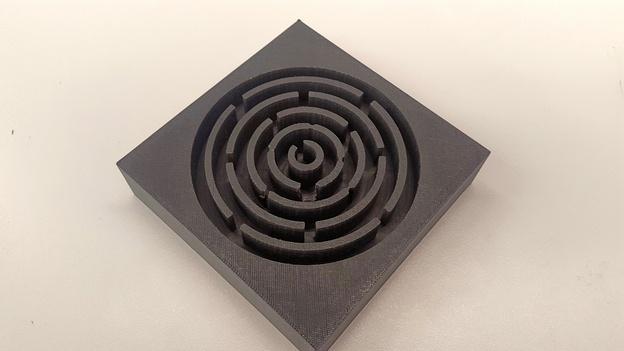 Delrin maze