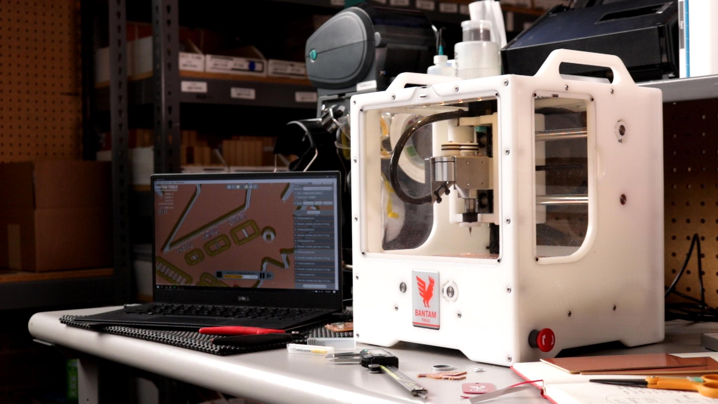 - Desktop PCB Milling Machine