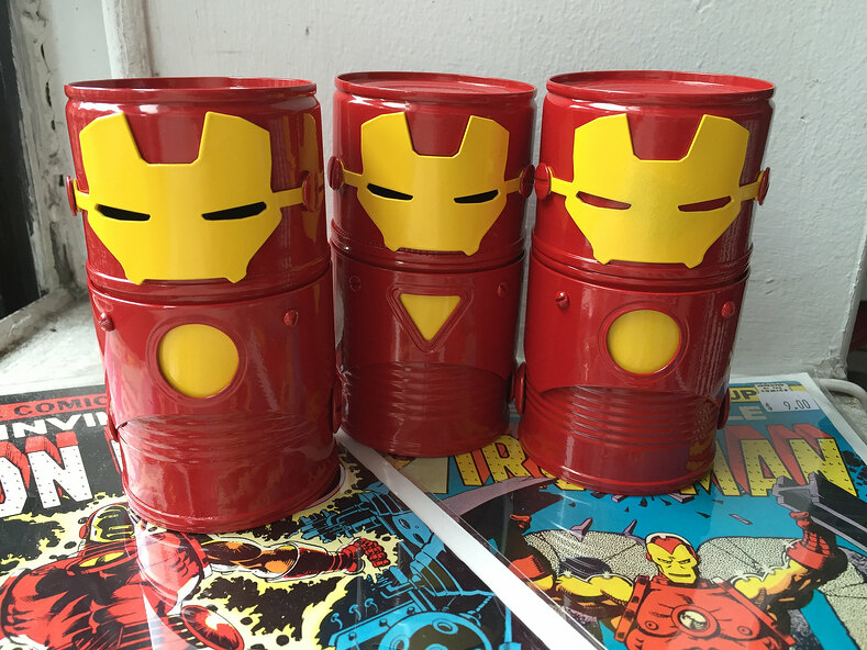 Iron Man chest plates