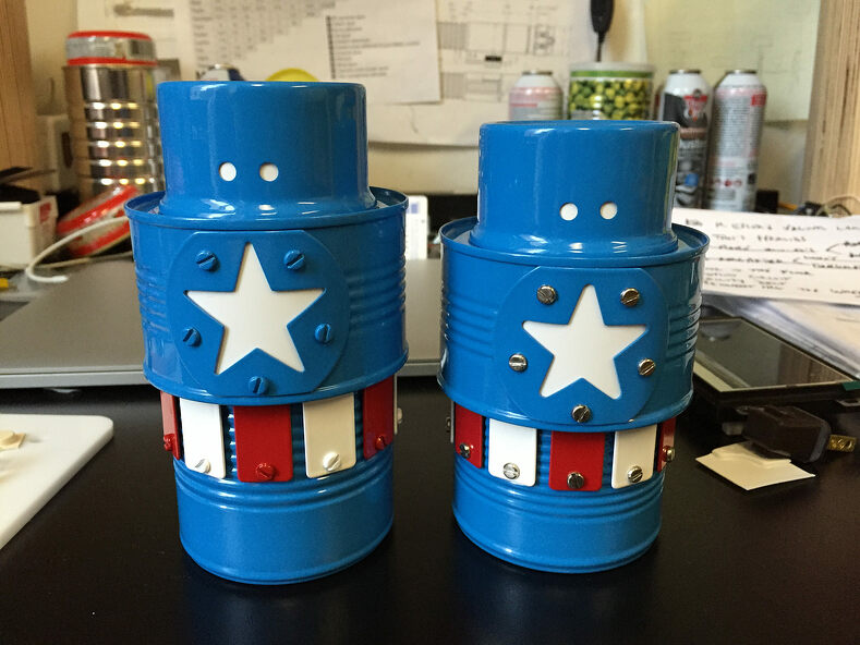 Captain American chest plates