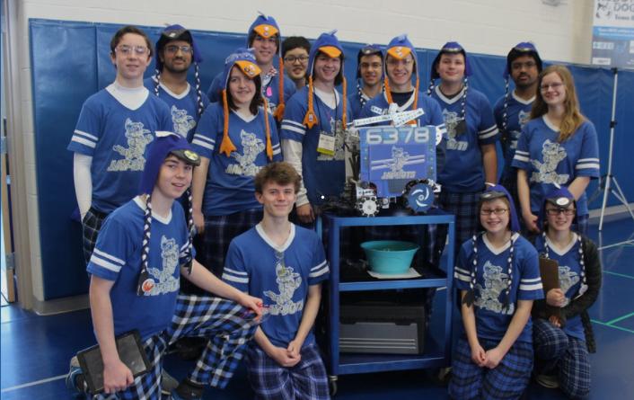 - High School Robotics: Central Columbia High School Jaybots