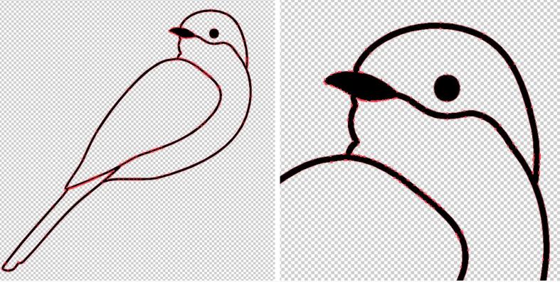 Bird design for custom PCB pin