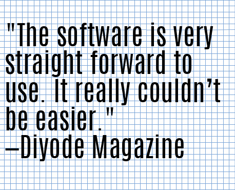 Another stellar quote from Diyode Magazine!