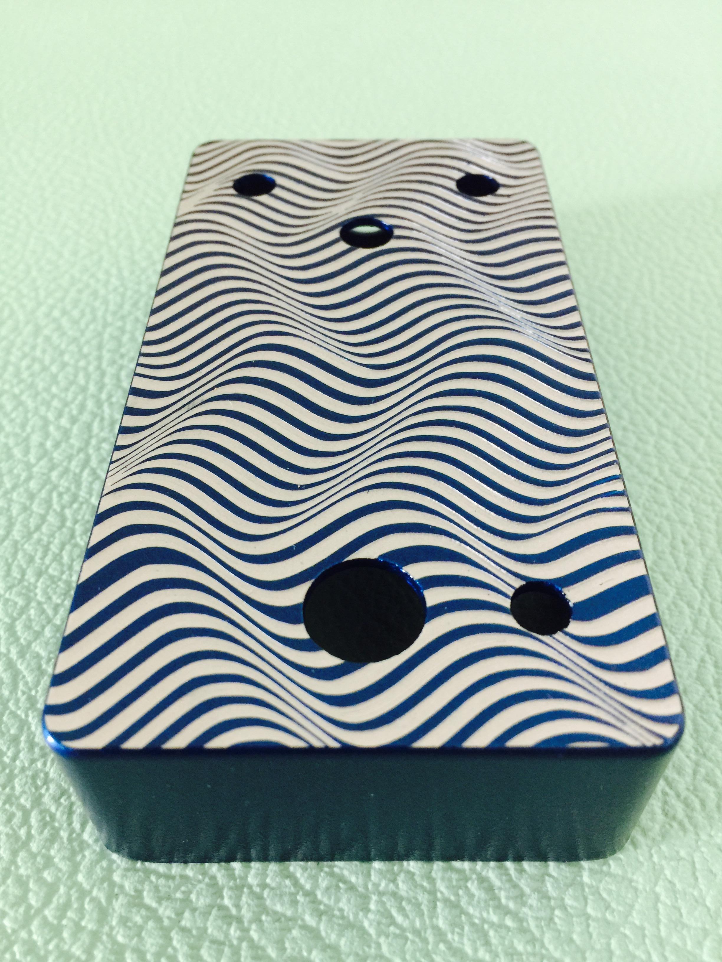 Custom wave illusion design by Eddie Serratos.