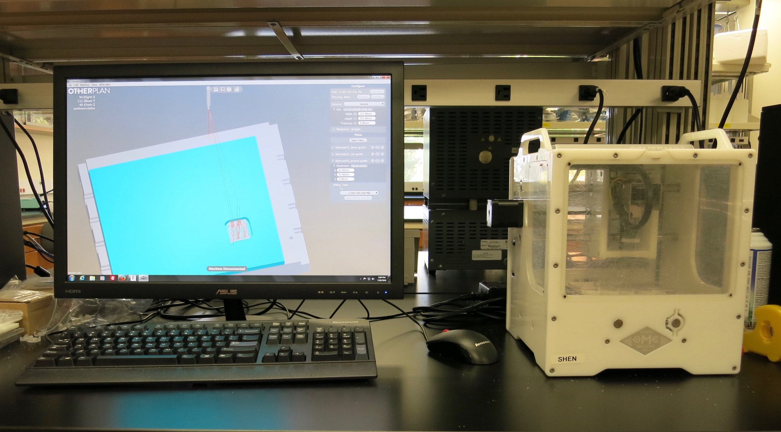 Note: The Bantam Tools Desktop PCB Milling Machine and the Bantam Tools Desktop Milling Machine Software were previously called the Othermill and Otherplan.