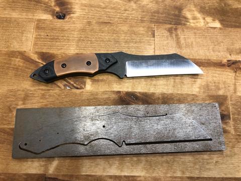 Wazer Knife Project