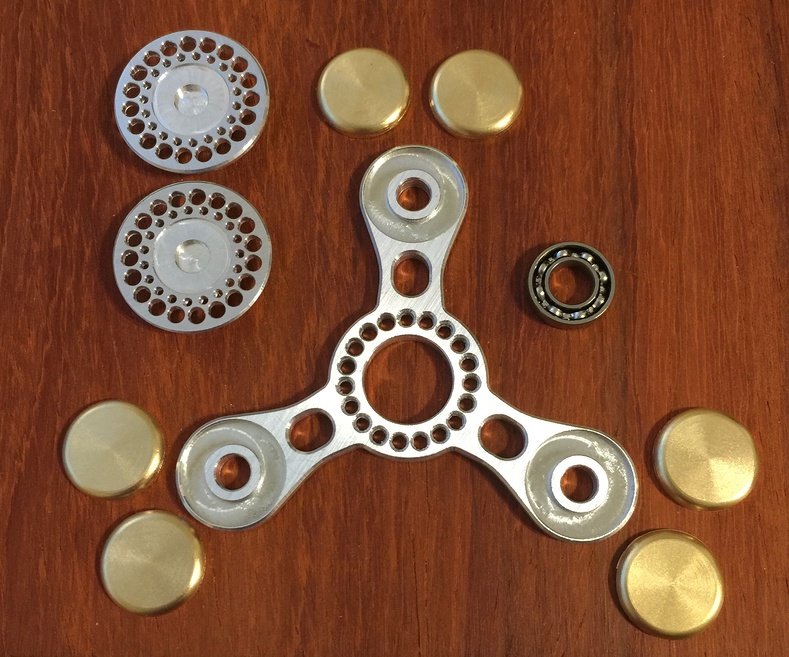 Spinners are being assembled.