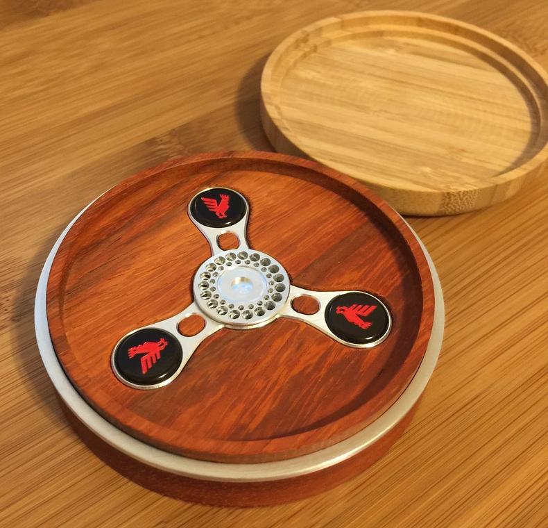 Ed Kramer's spinner in case.
