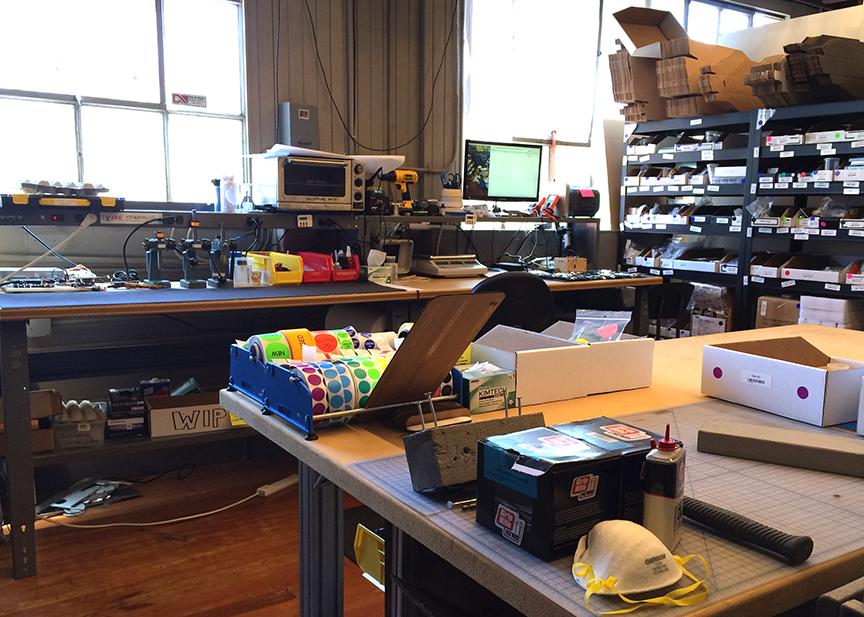 Bantam Tools headquarters workshop!