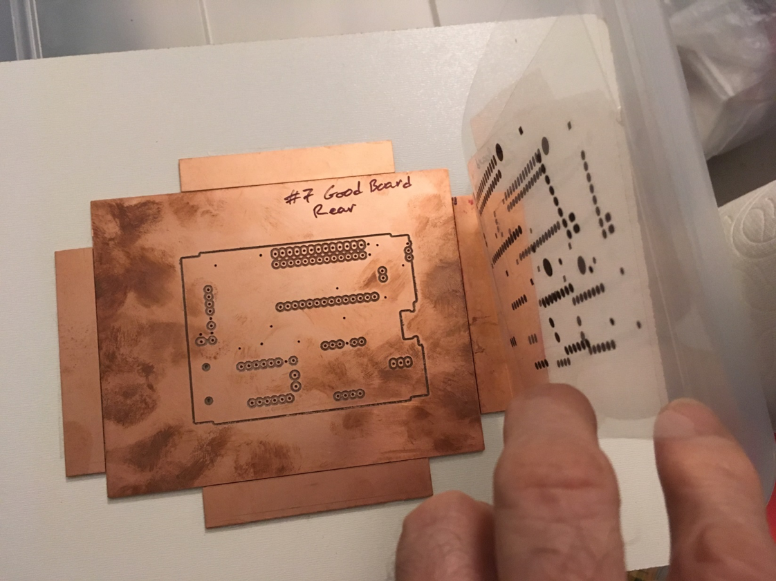 How to secure the frame on the PCB.