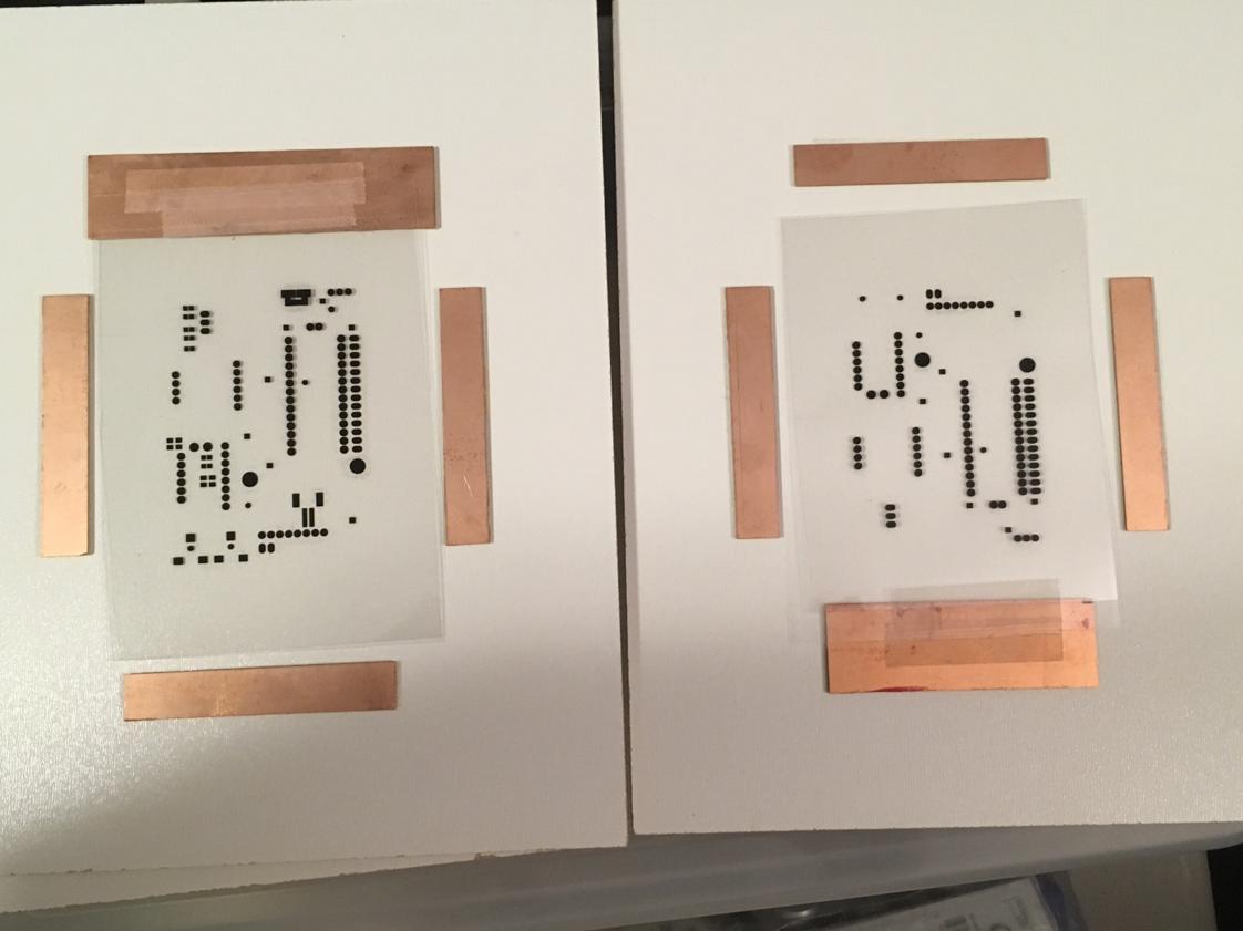 Dynamasks on PCBs.