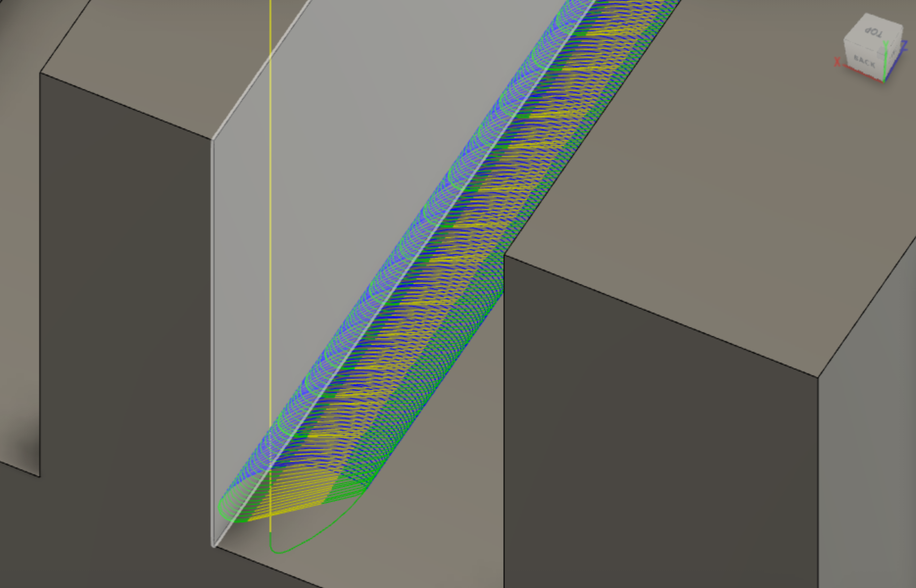High-speed machining operations take advantage of constant engagement toolpaths. For instance, programming an adaptive pass in Fusion 360 will keep the tool moving.