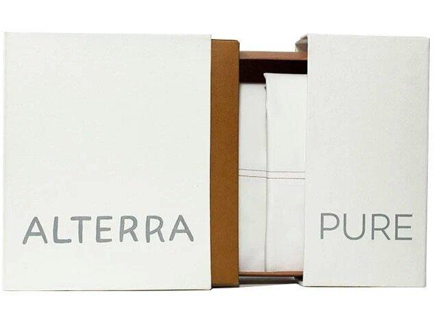 Organic Cotton Percale Sheet Set (Queen) - $160.00, Alterra Pure