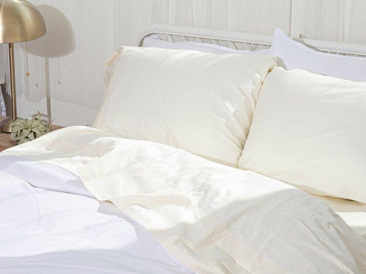 Room Service Sheet Set (Queen) - $180.00, PACT