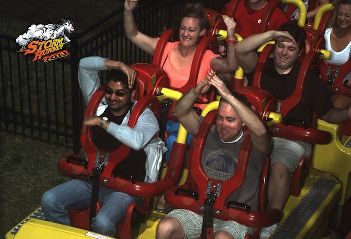 The RNA Roller Coaster Alphabet (Hershey Park) - 2013