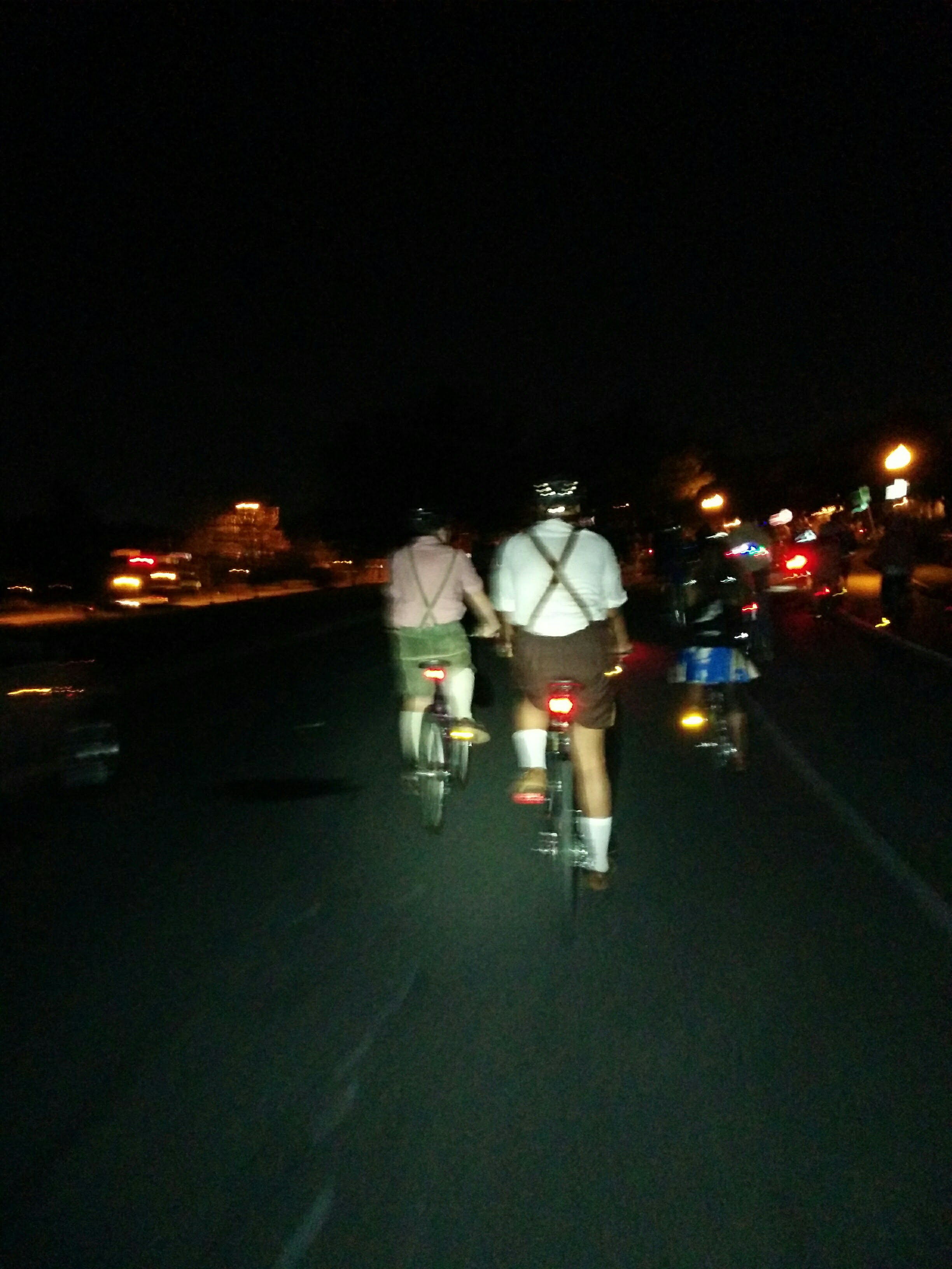 There ain't no party like a Baltimore Bike Party