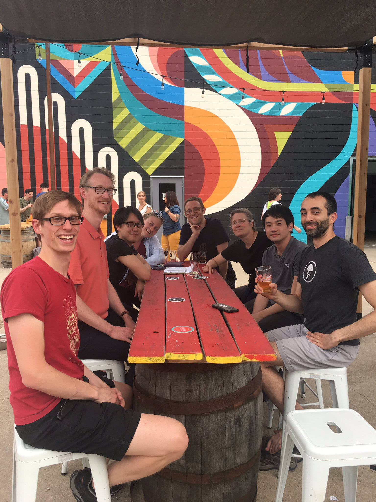 Lab Happy Hour at Union Craft Brewing