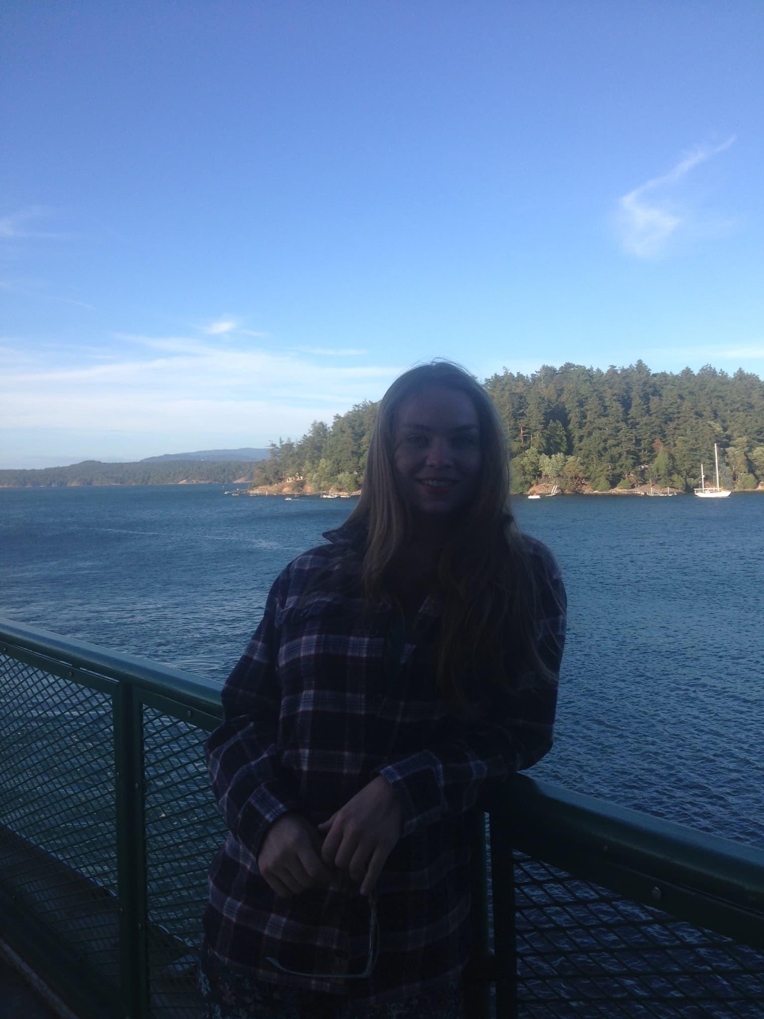 - Somewhere in the San Juan Islands in Washington State, 2016.