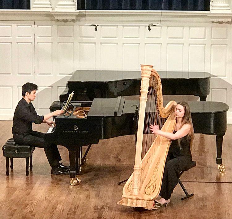 - My graduation recital at Yale University, April, 2018.