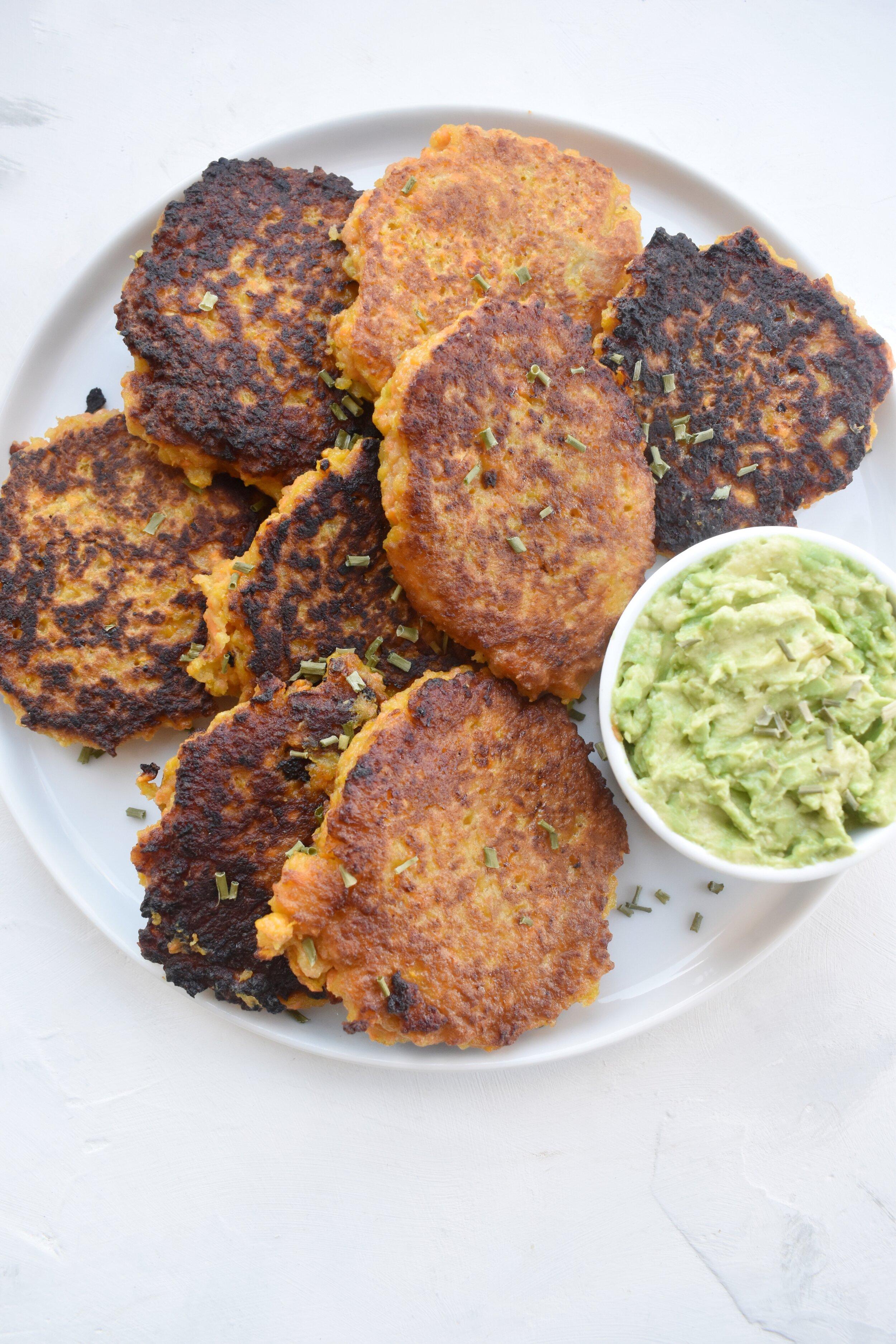 Savory Sweet Potato Pancakes Sammi Haber Brondo Sammi Brondo Nyc Based Registered Dietitian Nutritionist