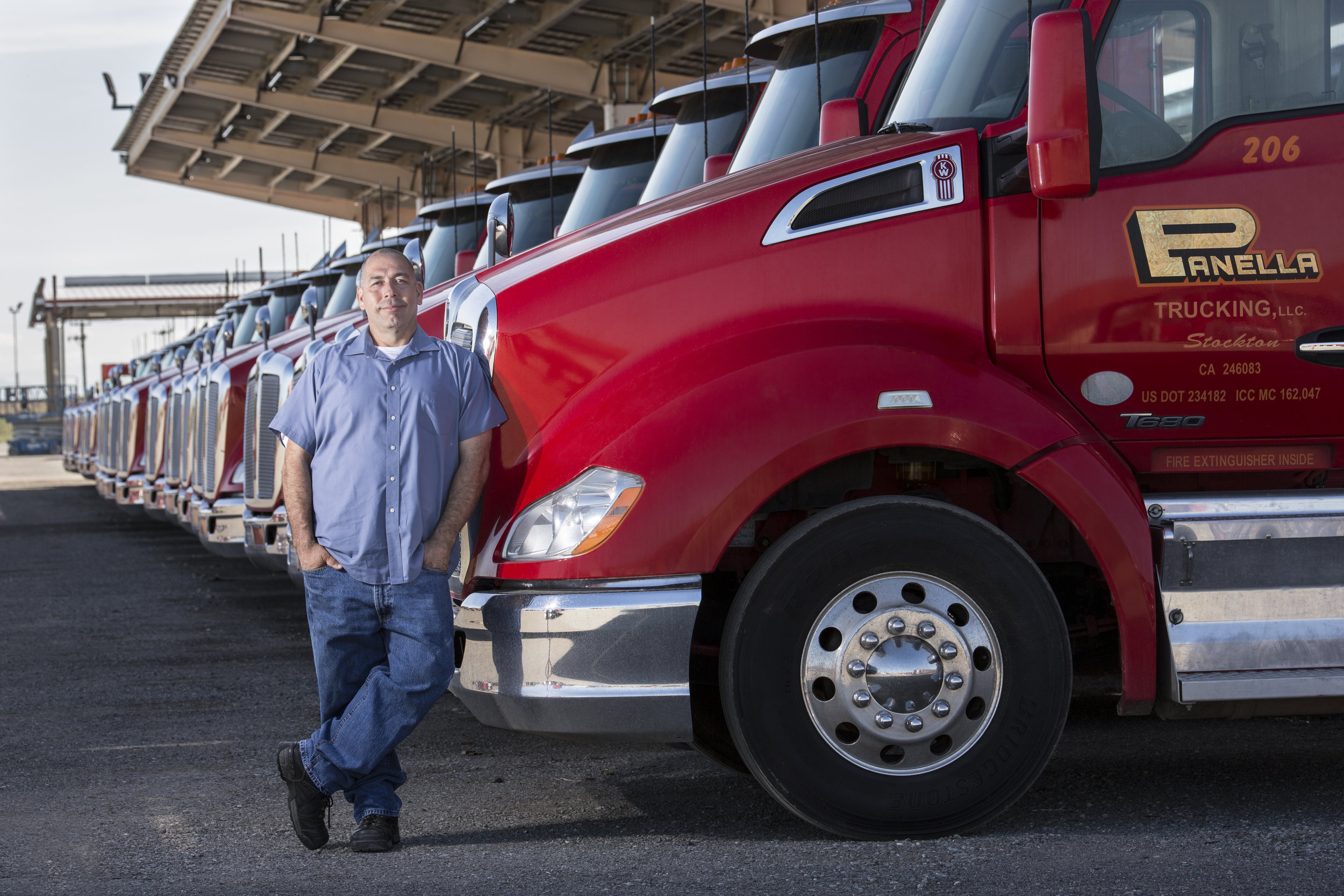 Meet Jose - Jose has been driving for Panella Trucking for the past 10 years. Before that, life happened and he was a bit down on his luck. Without a degree he felt hopeless. But enrolling with Western Pacific Truck School he's bringing in over $70k/year, has bought a home, and is enjoying a fruitful career.Enroll Now