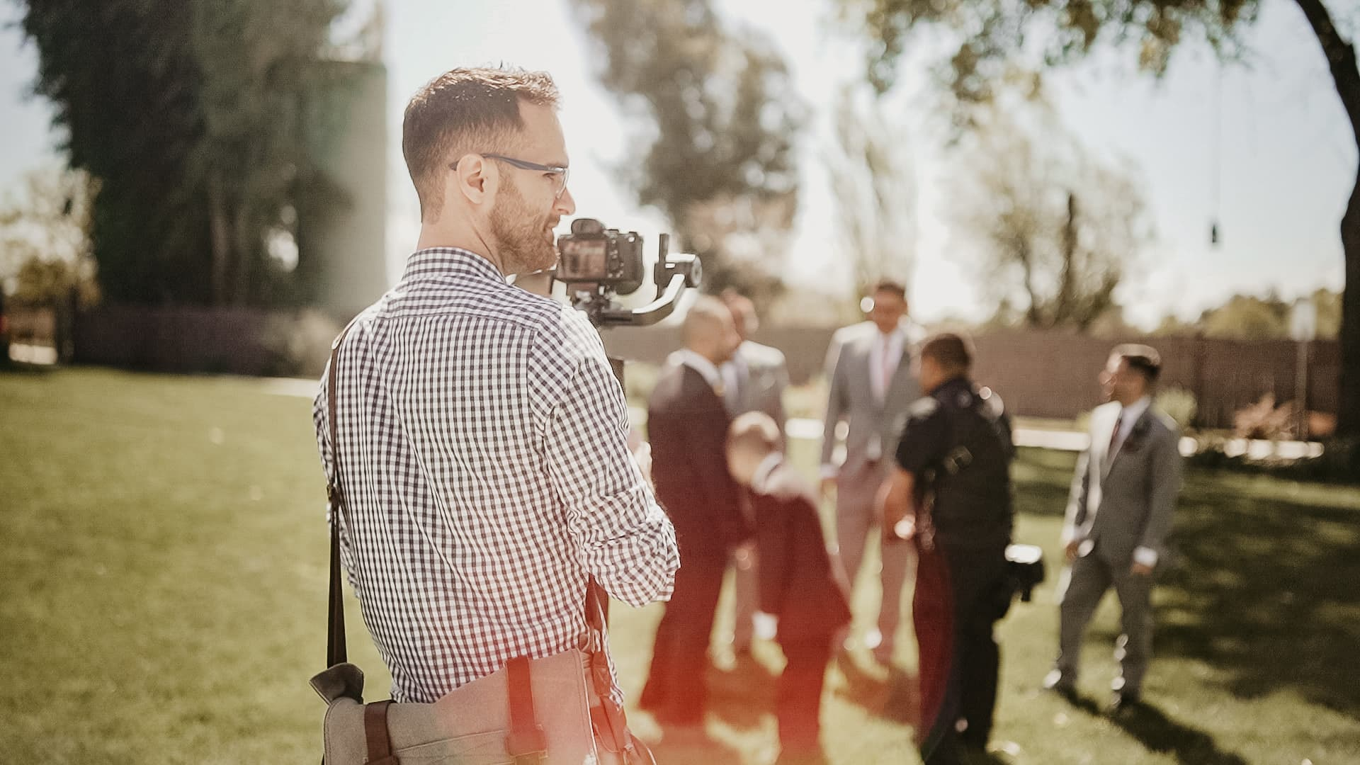 wedding videographer second shooter