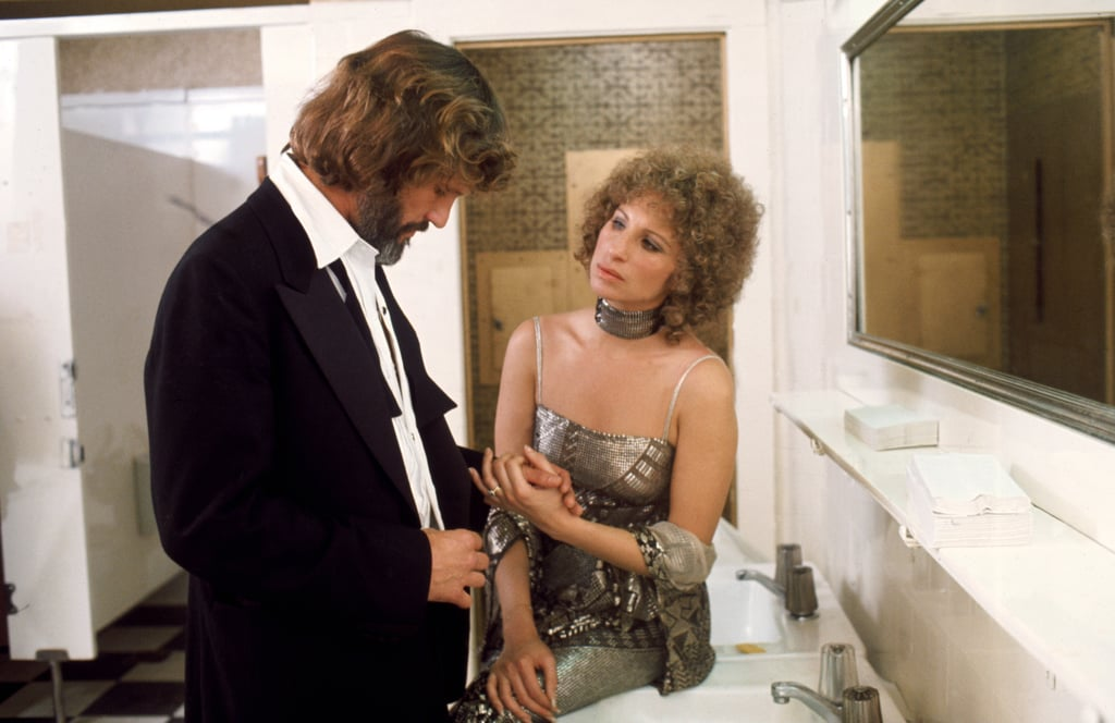 A Star Is Born (1976) starring Barbra Streisand and Kris Kristofferson received 4 Oscar nominations, 1 win. Image: Everett Collection