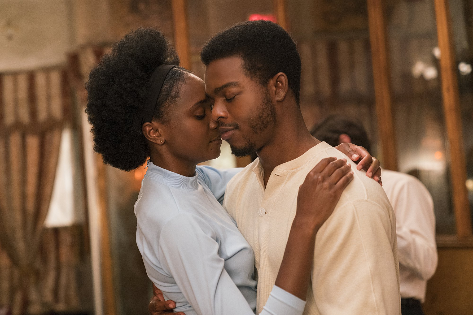 Stephan James and Regina King in If Beale Street Could Talk. Photo: Annupurna Pictures