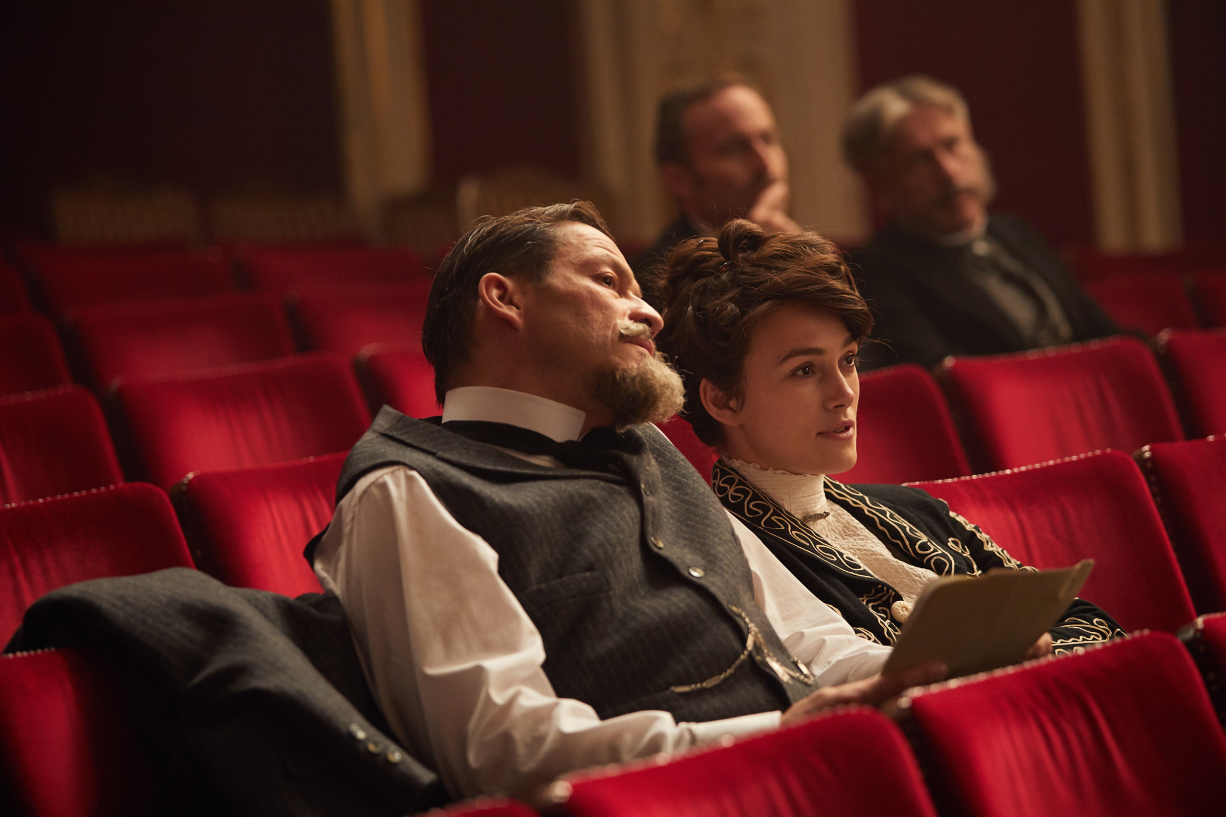 Keira Knightley and Dominic West in Collette. Photo: Transmission Films
