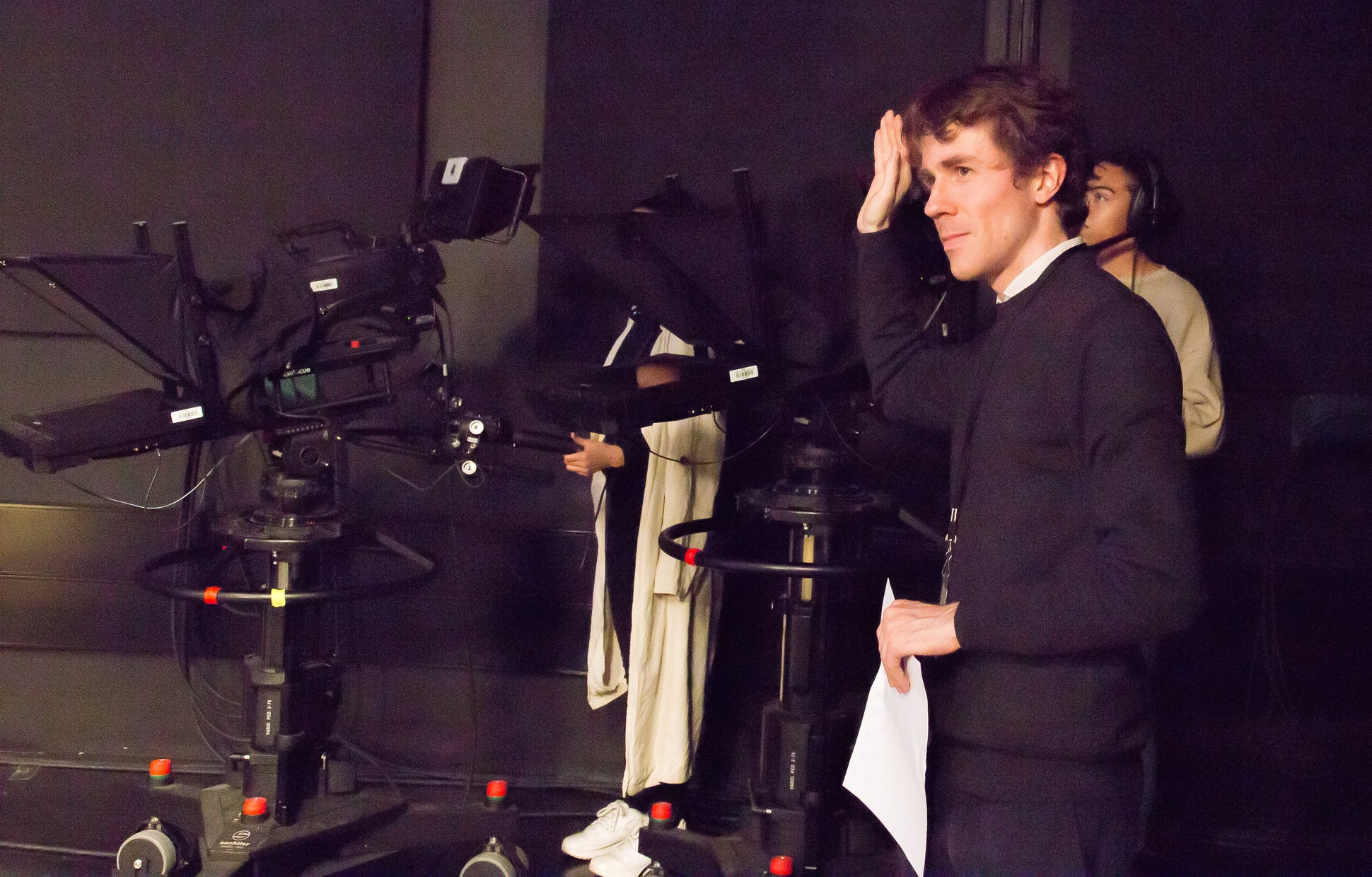 Executive Producer, Dean Watson on his TV special, Silent Comedy
