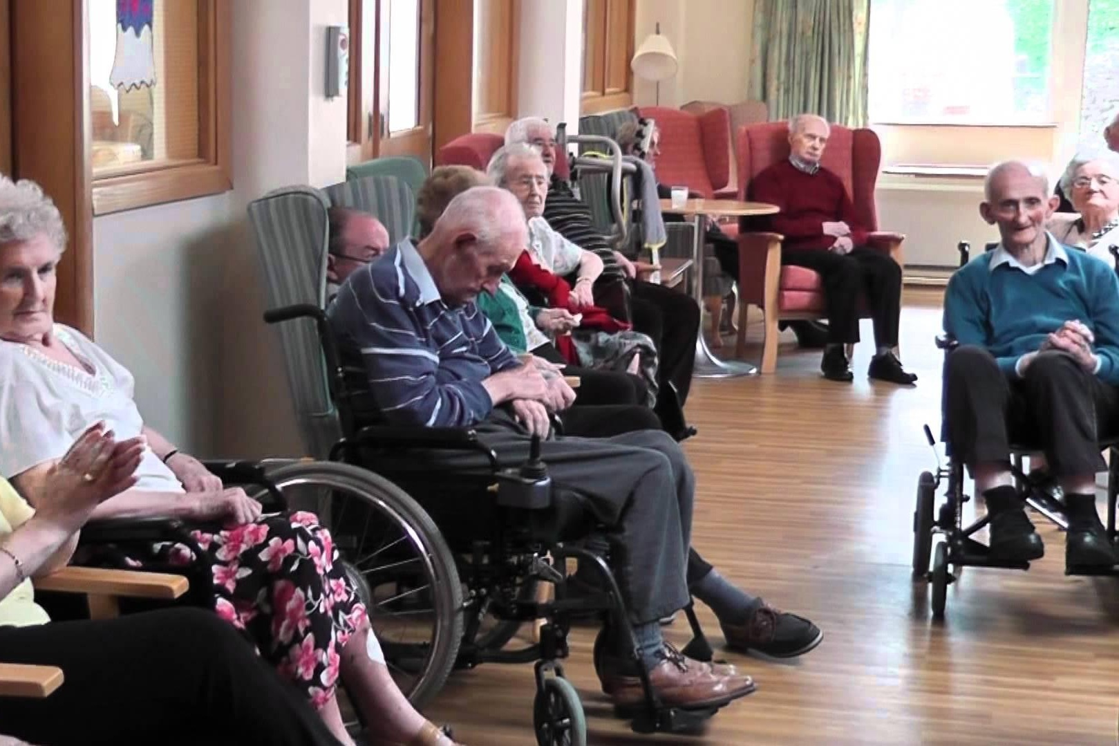 Nursing Homes are institutions. Their main roles are rehabilitation and long-term care.