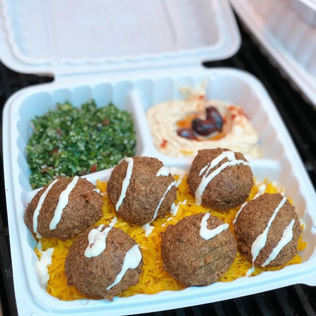 Our Falafel is the best in town! Tag a vegan friend in need of a good bite! • • • • • • • • • • #shawarmaguys #shawarma #mediterranean #middleeastern #kebab #falafel #hummus #lunch #dinner #eatfood #eatgood #sandiego #eats #goodeats #hungry #pita #yelp #grub #vegan