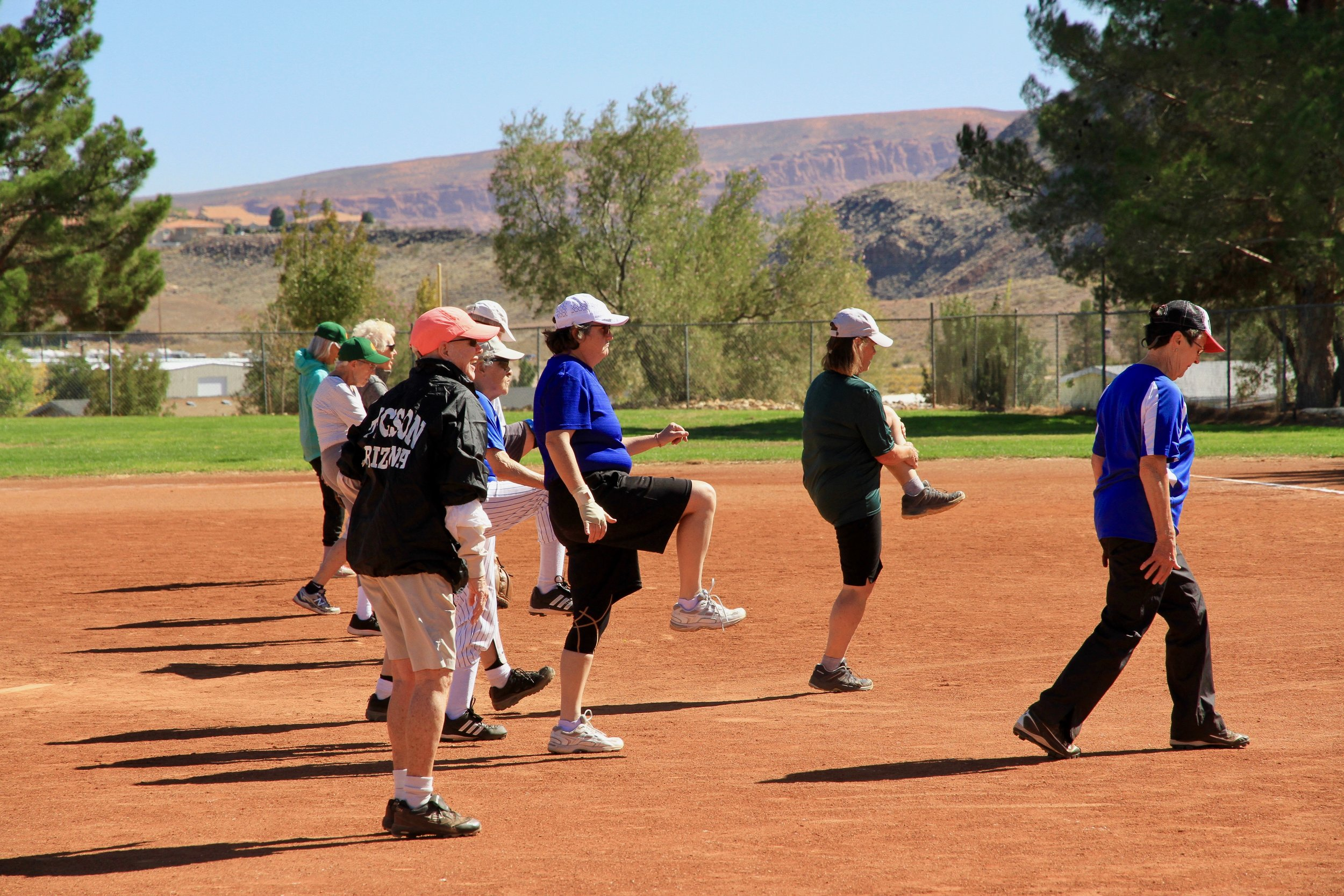"THEN AND NOW - The Colorado Peaches began in 1991 and today, fortified by excellent coaching and a willingness to ""step up to the plate"", has over 25 members/players ages 50 to 88 years young.We maintain a culture in which everyone is valued and welcome, regardless of age, ability, creed, ethnicity, and sexual orientation."