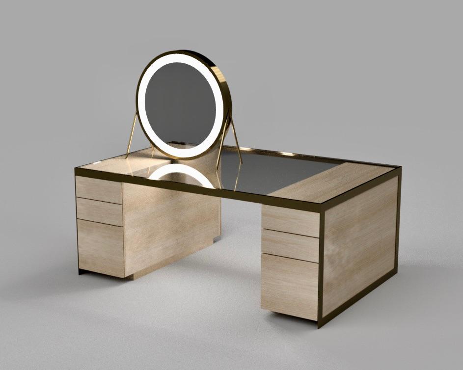 Double Vanity & Mirror