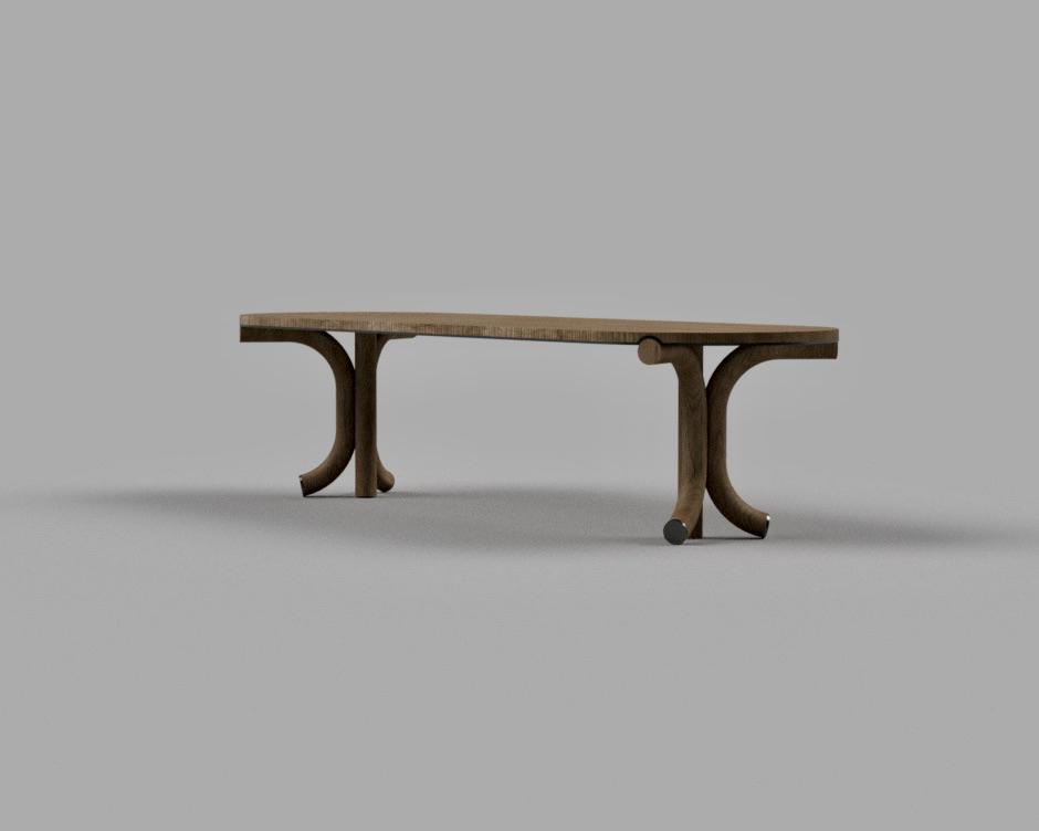 Bent Leg Table